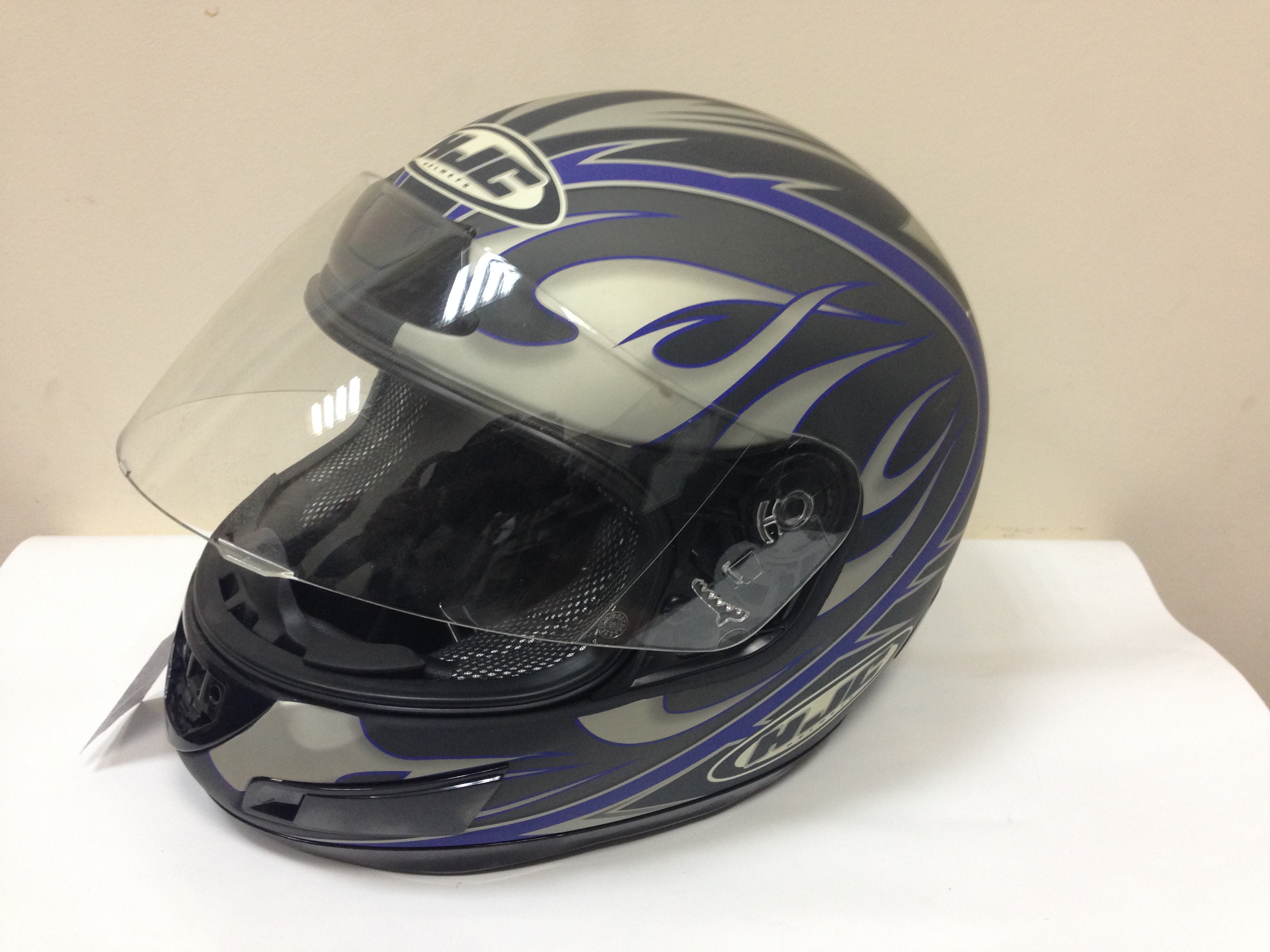 Интеграл HJC CS-12 Session MC2F синий матовый