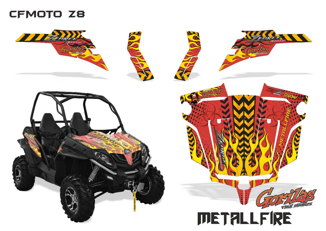 Metall Fire z8
